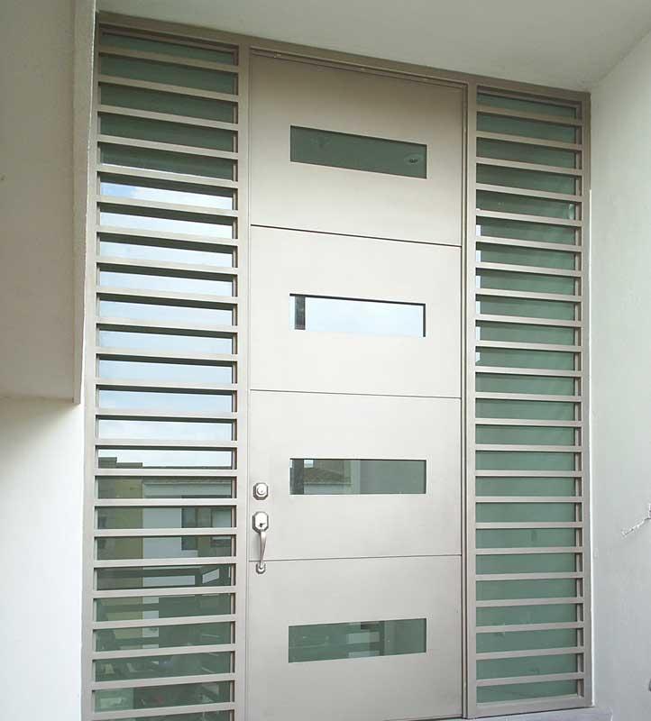 Herreria metalicos portones monterrey puertas for Imagenes de puertas de herreria modernas