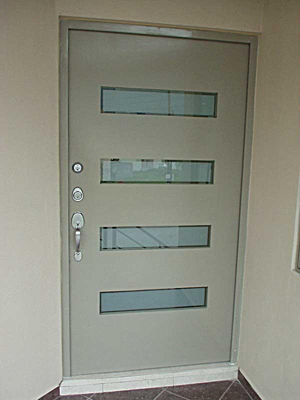 Herreria metalicos portones monterrey puertas for Puertas de herreria para interiores